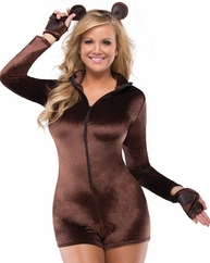 Sexy & Soft Beaver 3 PC Costume