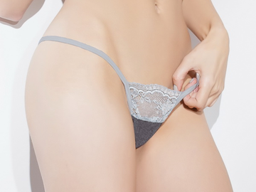 Sexy Stretch Lace Adjustable G-String