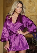 Shalimar Charmeuse Robe Set