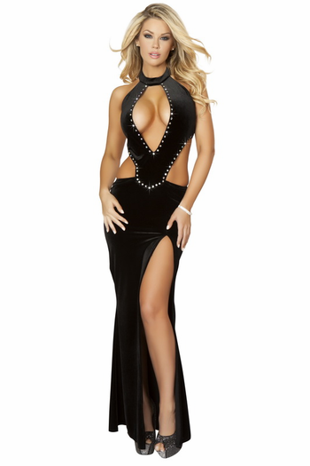 Sinfully Seducing Sexy Long Gown