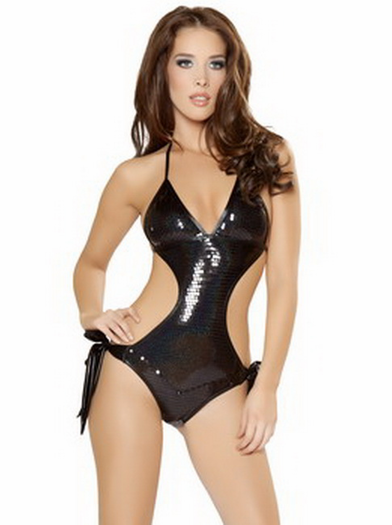 Steamy Sequin Monokini
