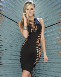 Strappy Seduction Sexy Dress
