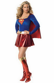 Super Woman Sexy Costume