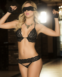 Surrender Your Love Bra Set