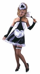Sweet Paris Maid Sexy Costume