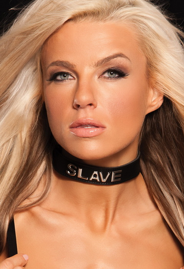 Talk Dirty To Me Slave Collar