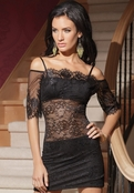 Talk Of The Town Sexy Lace Dress