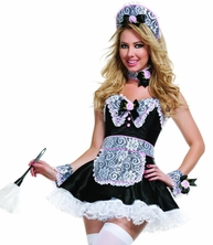 The Master's Favorite Maid Sexy 5 PC Costume