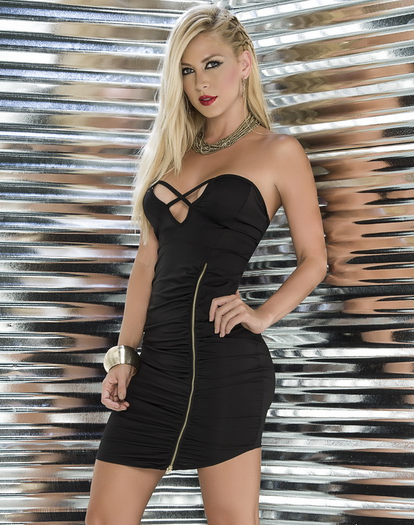 The Sexiest Rebel Zipper Dress