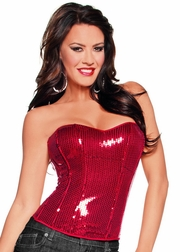 To Be Sexy Is A Gift Sequin Corset