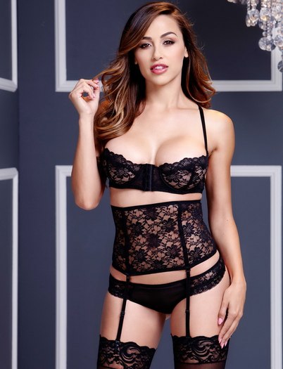 To Love You More Bra, Cincher & Panty Set