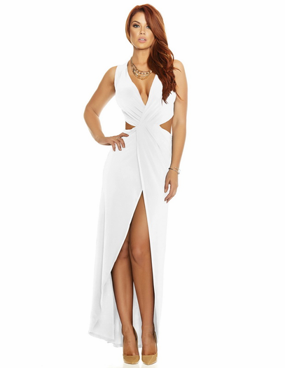 Tough Split Sexy Gown