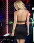 Trouble Comes After Dark Sexy Dress