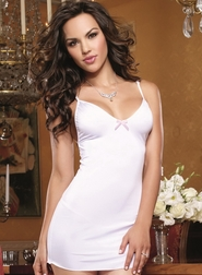 White Diamond Intimate Affair Sexy Chemise