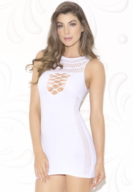 White Sublime Lingerie Dress Chemise