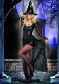 Wicked Me Sexy Witch Costume