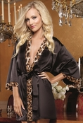 Wild Passion Satin Robe