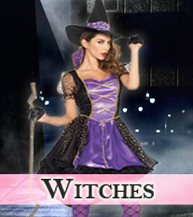 Witches Costumes, Wicked Costumes