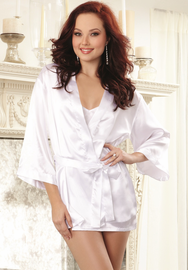 Yours Truly Bride Babydoll & Robe Set