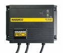 12 or 24 Volt Waterproof 2 Bank Battery Charger 20 Amp On Board