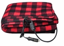 12V Fleece Heated Electric Travel Blanket