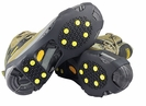 Slip-On Anti-skid Crampon Traction Grippers for Ice and Snow Shoe Studs
