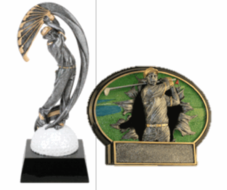 Resin Golf Awards and Trophies