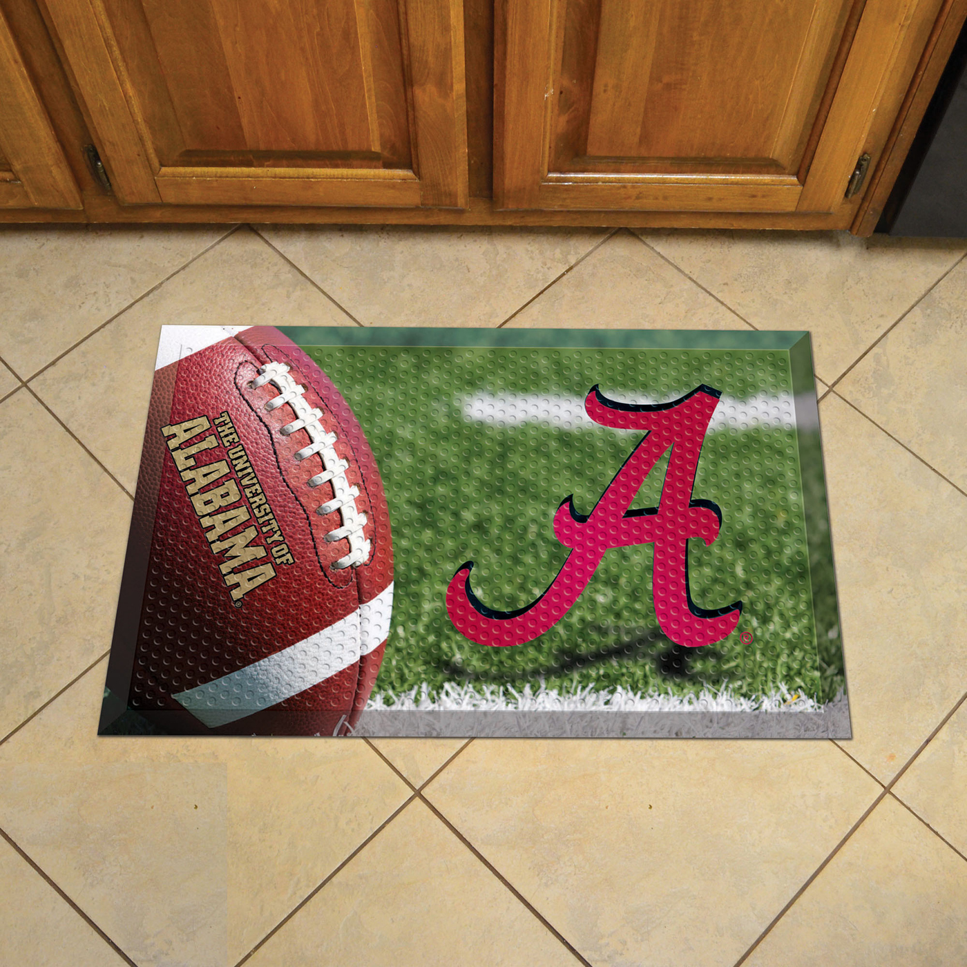 Alabama Crimson Tide Scraper Door Mat