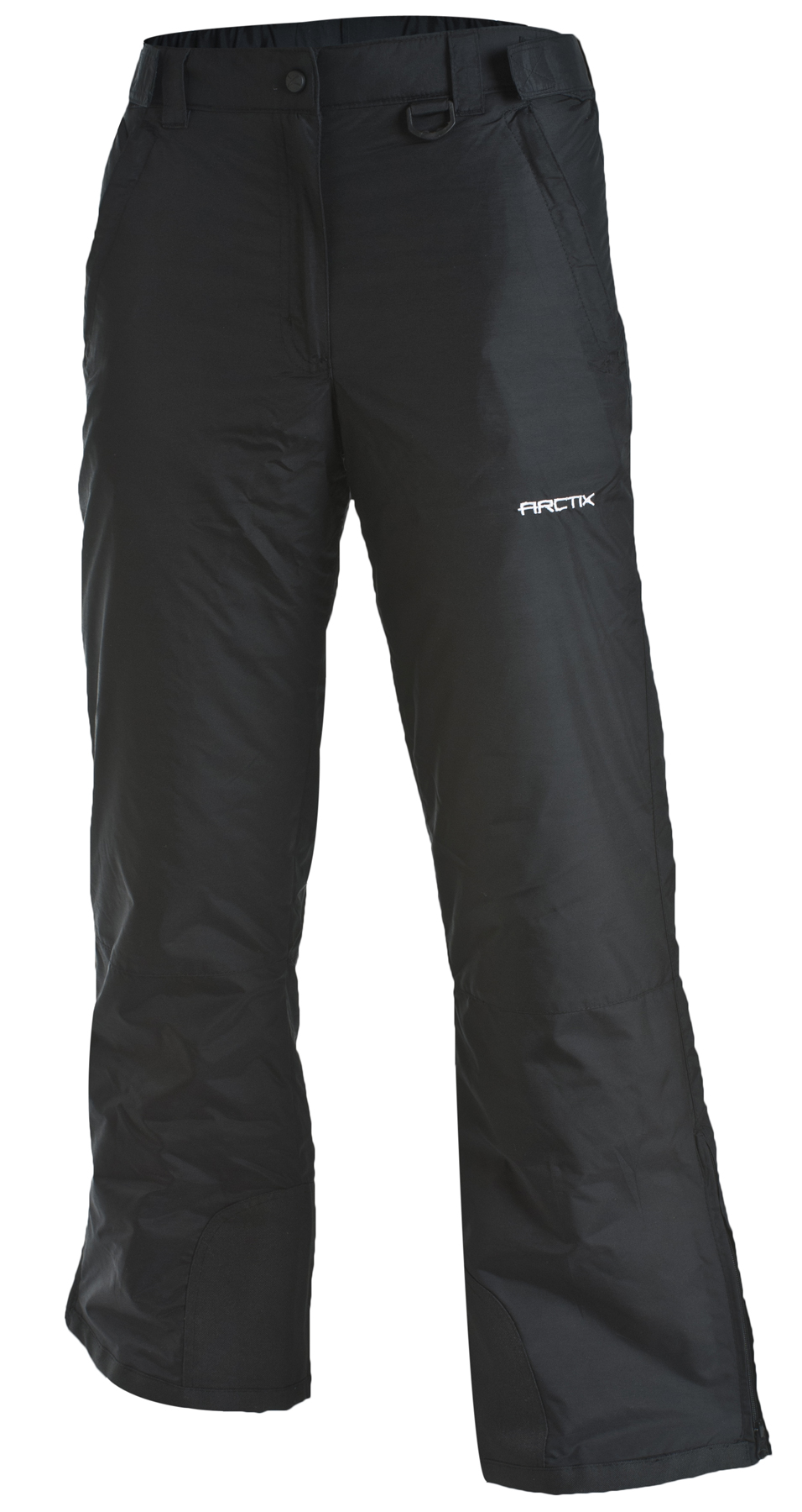 Snow pants for women in this selection are available in a range of colors, from classic black to bright, eye-catching hues. Find the right look for you and carve up the mountainside like a pro. Ladies' ski pants from this collection are durable and tough.