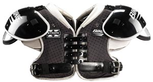 Bike Xtreme Lite Adult Football Shoulder Pads - Running Back / Defensive Back