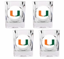 College Shot Glasses