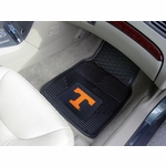 Collegiate Heavy Duty 2-Piece Vinyl Car Mats