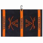 Collegiate Woven Jacquard Golf Towels