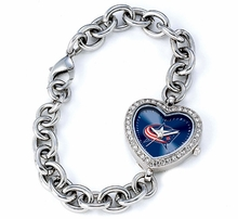 Columbus Blue Jackets Watches and Jewelry