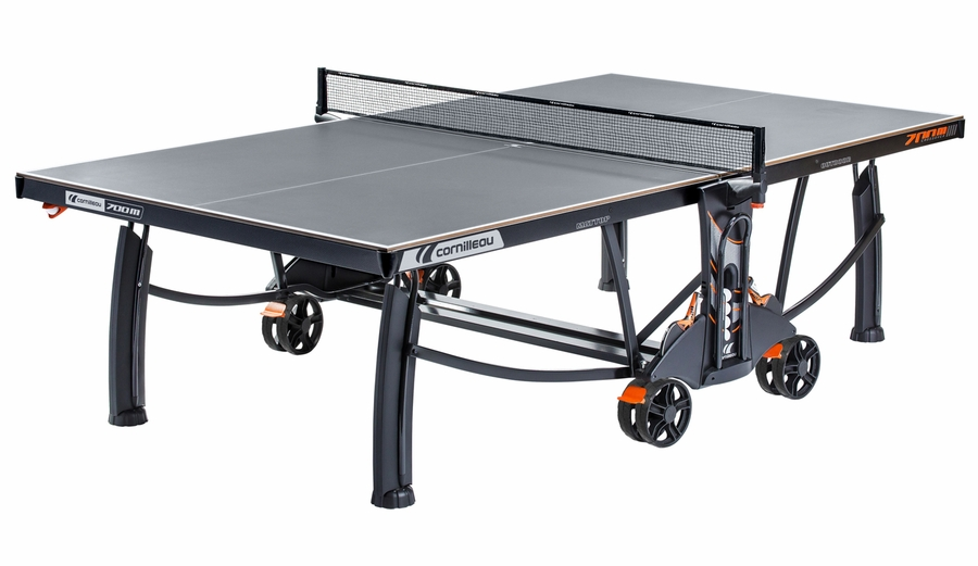 Cornilleau 700m Crossover Indoor Outdoor Gray Ping Pong Table