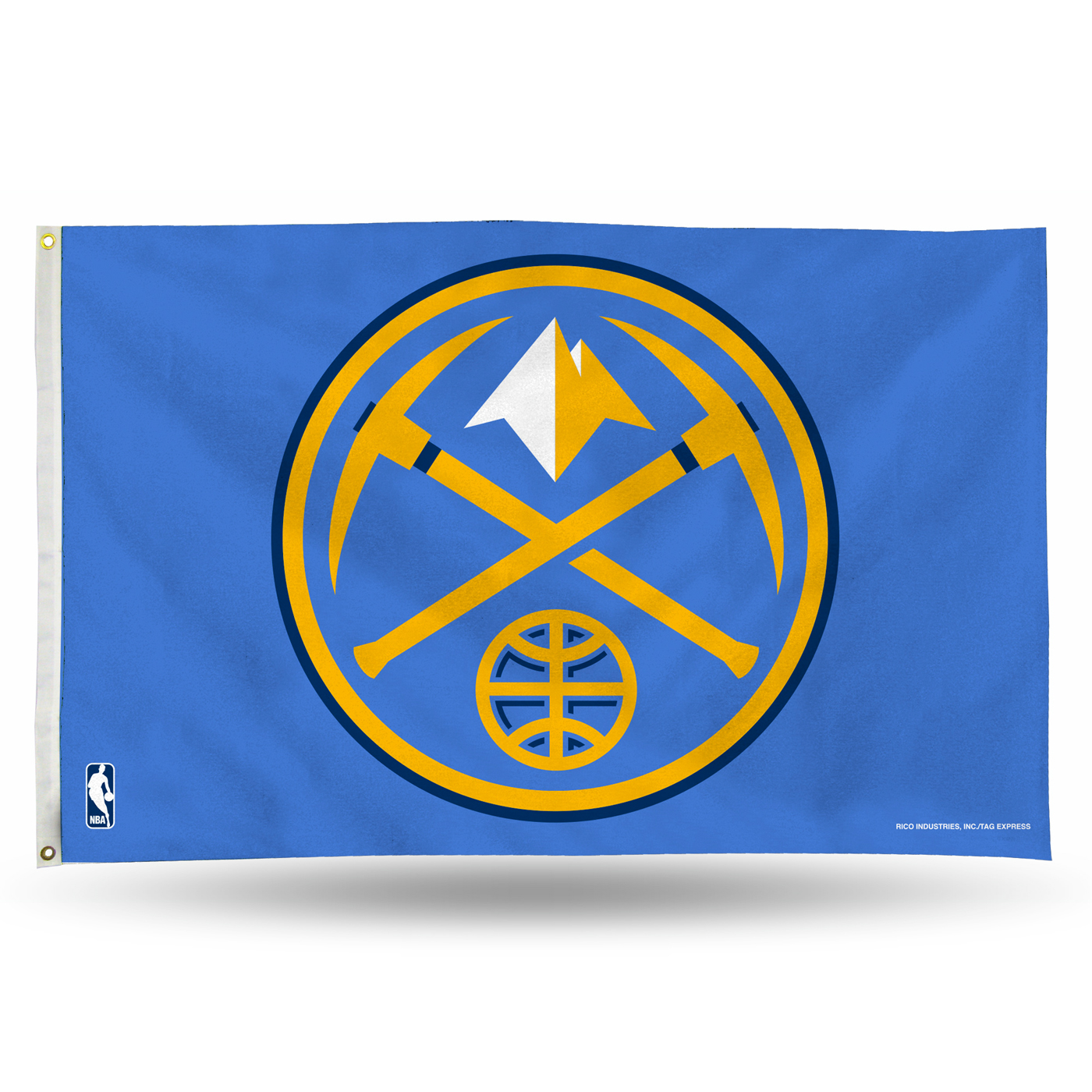 Denver Nuggets 3' X 5' Banner Flag