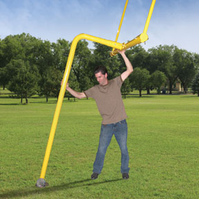 first team gridiron basic backyard football goal post