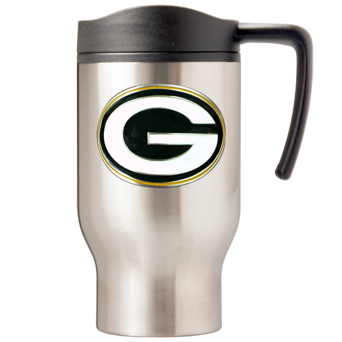 Green Bay Packers 15oz Stainless Steel Amp Pvc Travel