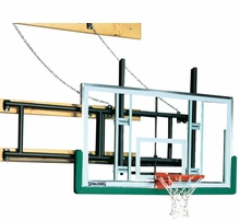 Gymnasium Fold-Up Wall Mounted Basketball Hoops