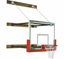 Gymnasium Stationary Wall Mount Basketball Hoops