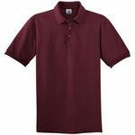 Hanes Custom Men's Pique Knit Polo