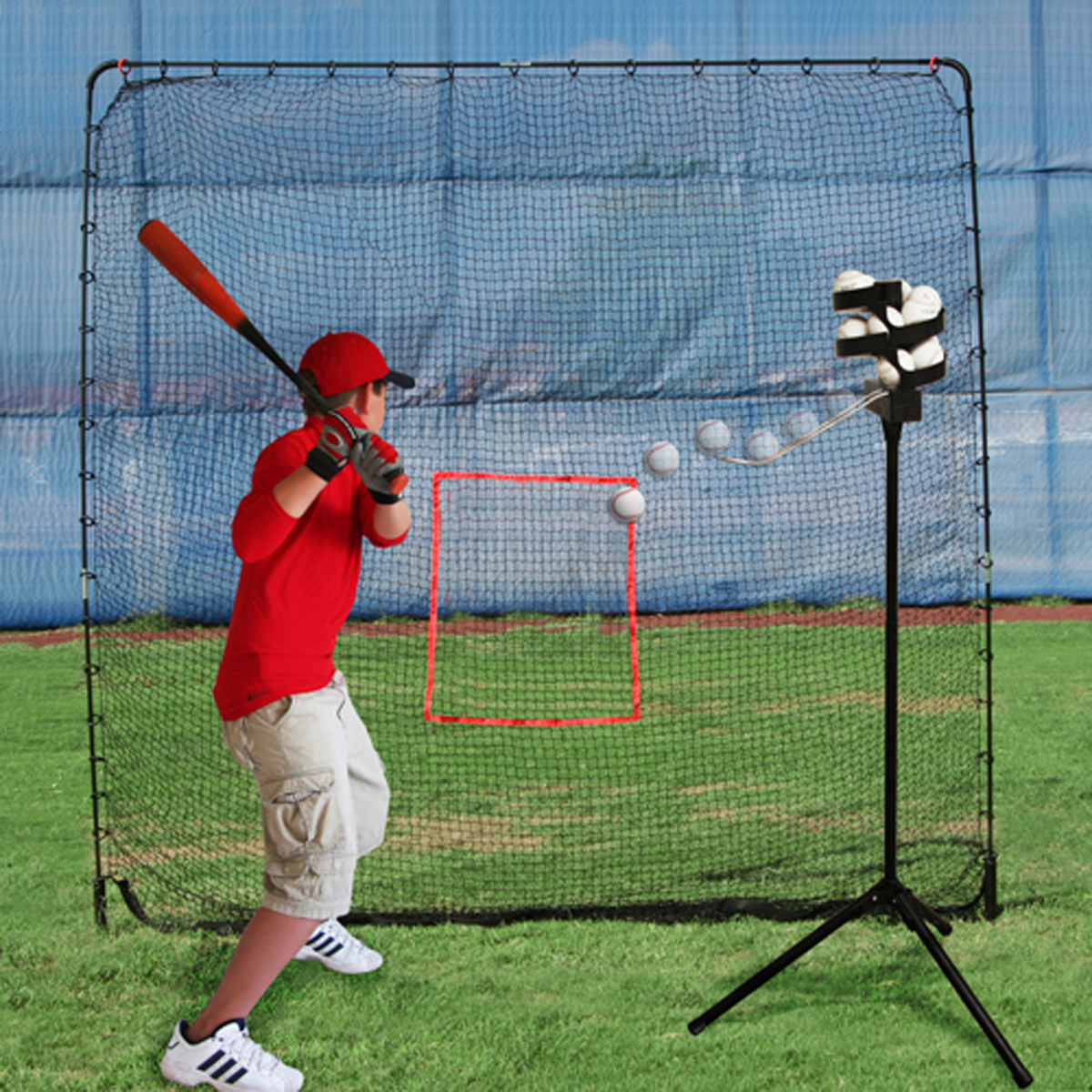 pitching machine net