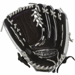 "Louisville Slugger Zephyr Black 12"" Fastpitch Softball Glove - Right Hand Throw"