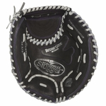 "Louisville Slugger Zephyr Black 32.5"" Fastpitch Softball Catcher's Mitt - Right Hand Throw"