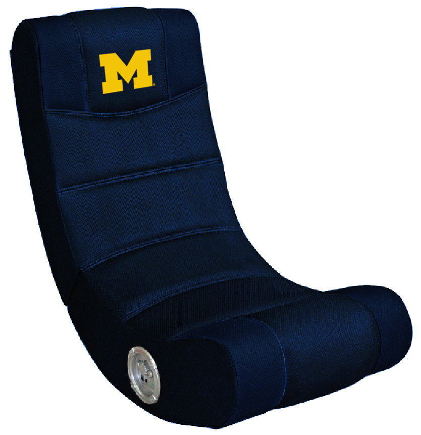 Michigan Wolverines Bluetooth Gaming Chair