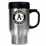 MLB 16 Oz Stainless Steel Travel Mug