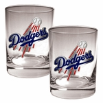 MLB 2-Piece 14 Oz. Rocks Glass Set