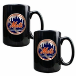 MLB 2-Piece Ceramic Coffee Mug Set