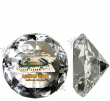 MLB Crystal Diamond Paperweights