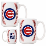 MLB Gameball Ceramic Coffee Mug Set